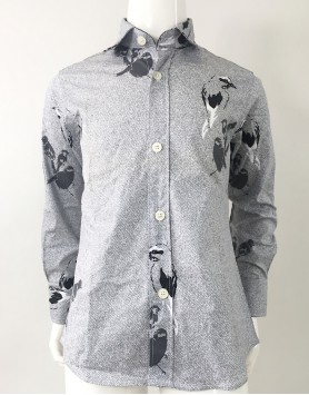 Dolce & Gabbana Bird Button Down Shirt