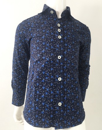 Billionaire Floral Button Down Shirt