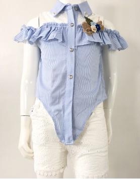 Kimora Lace Bum Short Set