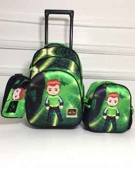Orla Trolley Backpack Set