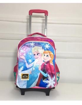 Jaz Cartoon Page Backpack Trolley