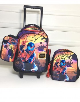 Orla Spiderman Trolley Backpack