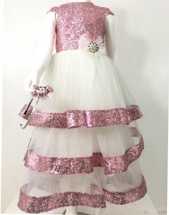 Elisa Sequin Dress