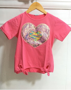 Amoy Color Sequin Top